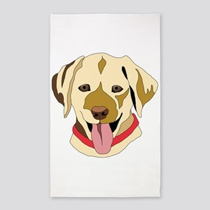 Yellow Lab 3'x5' Area Rug