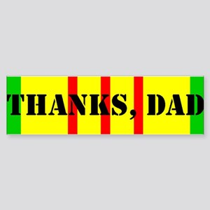 My Dad is a Vietnam Vet (i) Bumper Sticker