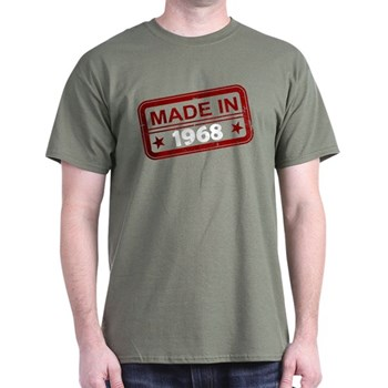 Stamped Made In 1968 Dark T-Shirt