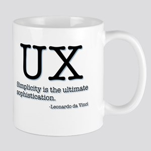 UX leonardo da vinci Mugs