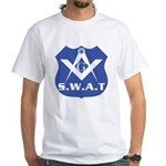 S.W.A.T. Masons White T-Shirt