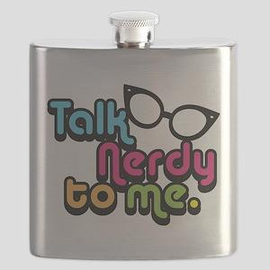 Talk Nerdy to Me Flask