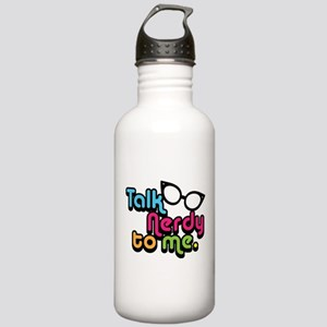 Talk Nerdy to Me Water Bottle
