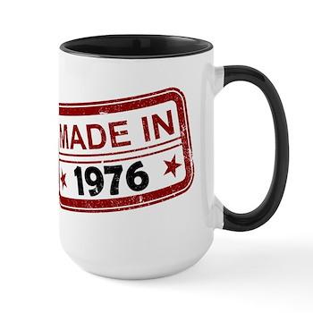 Stamped Made In 1976 Large Mug