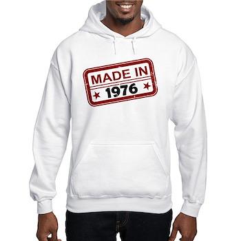 Stamped Made In 1976 Hooded Sweatshirt