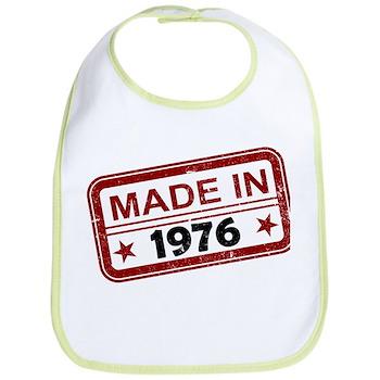 Stamped Made In 1976 Bib