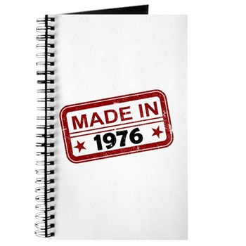 Stamped Made In 1976 Journal