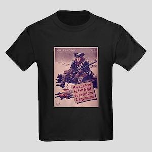 ABH Valley Forge Kids Dark T-Shirt