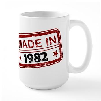 Stamped Made In 1982 Large Mug