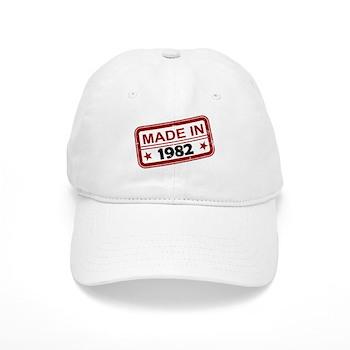 Stamped Made In 1982 Cap