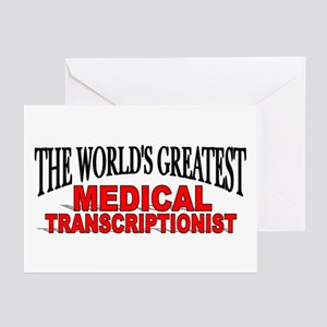 """The World's Greatest Medical Transcriptionist"" Gr"