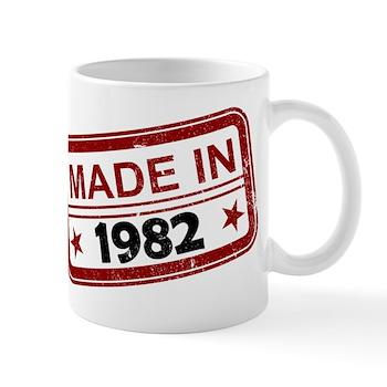 Stamped Made In 1982 Mug