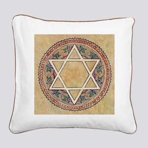 STAR OF DAVID 2 Square Canvas Pillow