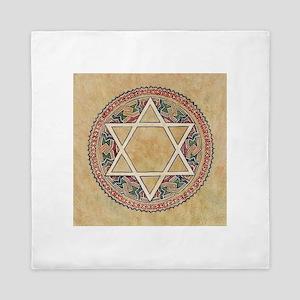 STAR OF DAVID 2 Queen Duvet