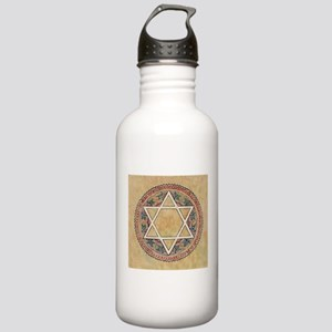 STAR OF DAVID 2 Stainless Water Bottle 1.0L