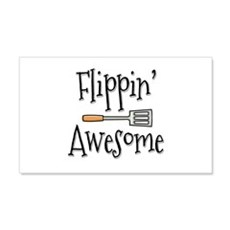 Flippin Awesome Cooking Wall Decal
