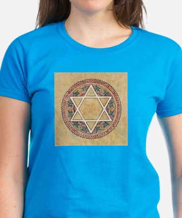 STAR OF DAVID 2 Women's Dark T-Shirt