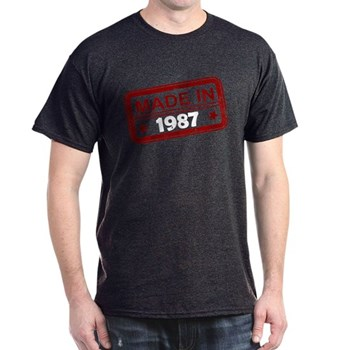 Stamped Made In 1987 Dark T-Shirt