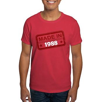 Stamped Made In 1988 Dark T-Shirt