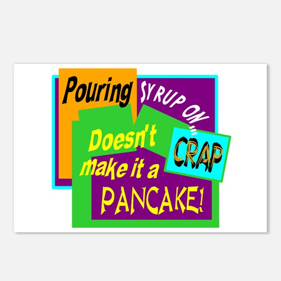 Pouring Syrup On Crap!/ Postcards (Package of 8)