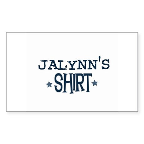Jalynn Rectangle Sticker