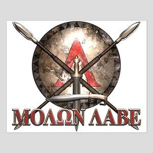 Molon Labe - Spartan Shield and Swords Posters