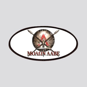 Molon Labe - Spartan Shield and Swords Patches