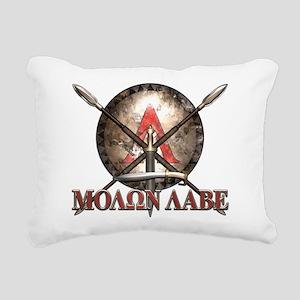 Molon Labe - Spartan Shield and Swords Rectangular