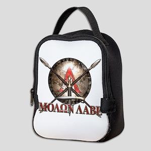 Molon Labe - Spartan Shield and Swords Neoprene Lu