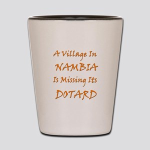 Nambia Village Shot Glass