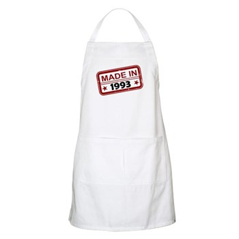 Stamped Made In 1993 Apron