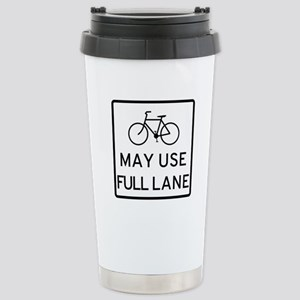 May Use Full Lane Travel Mug