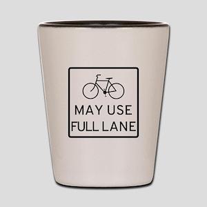 May Use Full Lane Shot Glass