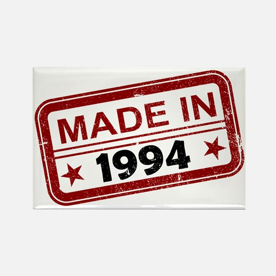 Stamped Made In 1994 Rectangle Magnet