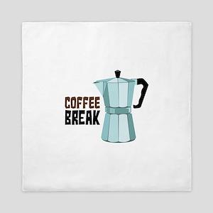 COFFEE BREAK Queen Duvet