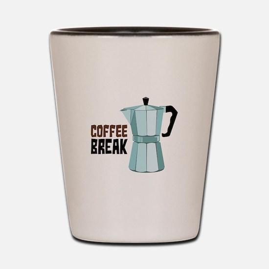 COFFEE BREAK Shot Glass