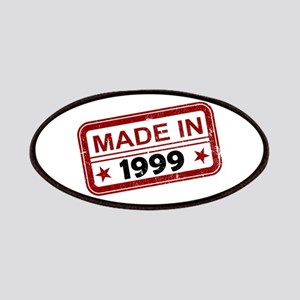 Stamped Made In 1999 Patches
