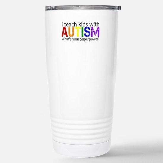 I teach kids with Autism Travel Mug
