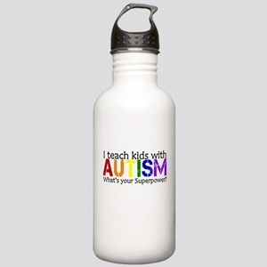 I teach kids with Autism Water Bottle