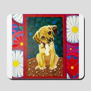 Daisy the Puppy Mousepad