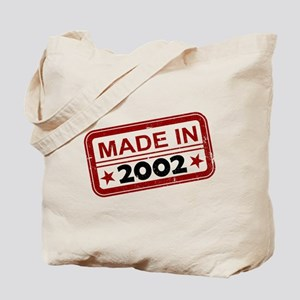 Stamped Made In 2002 Tote Bag