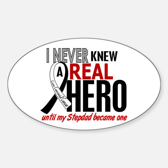 Carcinoid Cancer Real Hero 2 Sticker (Oval)