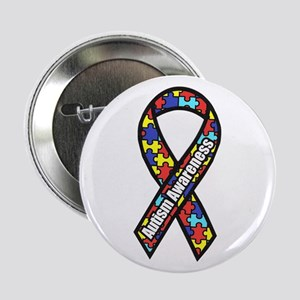 "Awareness Ribbon Scanned 2.png 2.25"" Button"