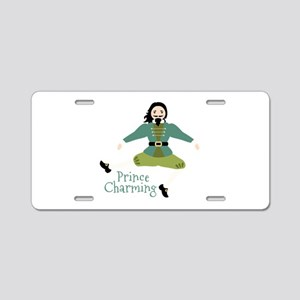 Prince Charming Aluminum License Plate