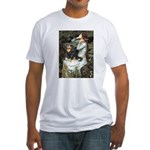 Ophelia & Cavalier (BT) Fitted T-Shirt