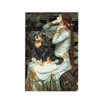 Ophelia & Cavalier (BT) Rectangle Magnet (10 pack)