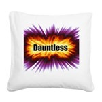 Dauntless Square Canvas Pillow