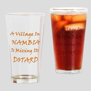 Nambia Village Drinking Glass