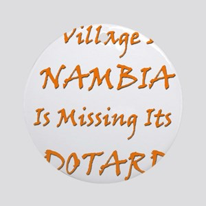 Nambia Village Round Ornament