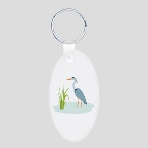 Blue Heron Keychains